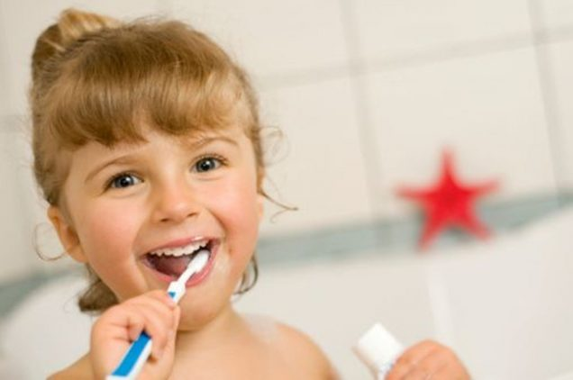 limpiar dientes