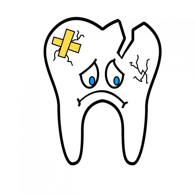 dientes rotos